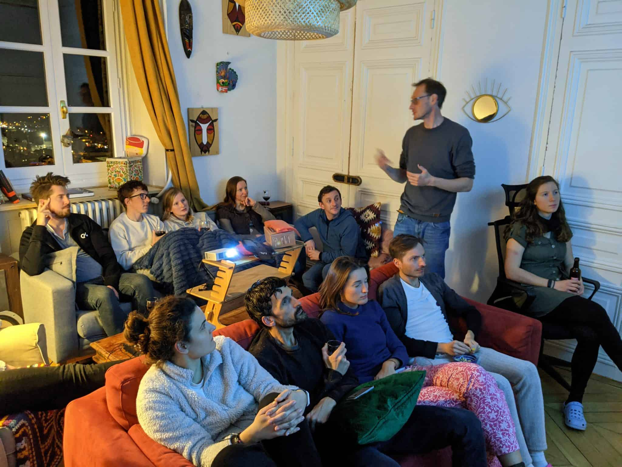 co-living in France, co-working, remote work, volunteer opportunity, intentional community